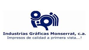 INDUSTRIAS GRAFICAS MONSERRAT C.A | J-08522708-3